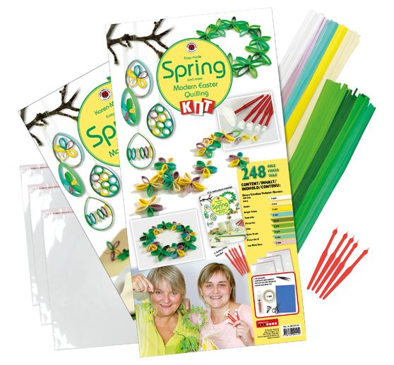 "Karen-Marie Quilling-Set ""Easy Made Spring"""