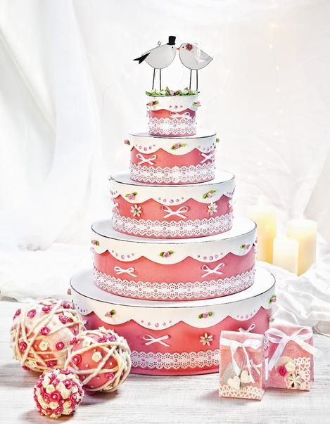 Torte basteln für hochzeit