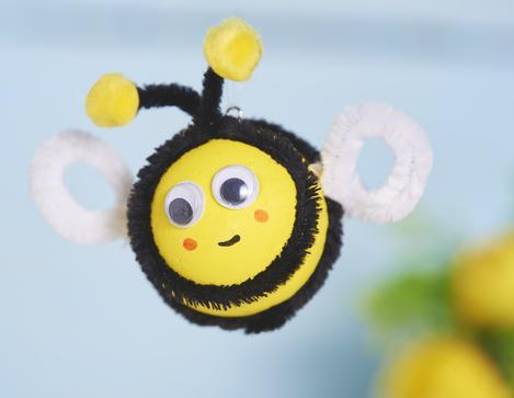Bienen Aus Styroporkugeln Basteln Vbs Hobby Bastelshop