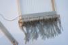 wadteppich mit hilfe eines Webrahmens selber weben